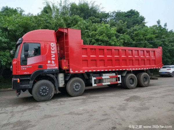 450红岩杰狮8米自卸优惠大促销