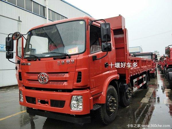 三环十通 昊龙中卡 240马力 6X2 7.4米自卸车(STQ3251L14Y3D5)