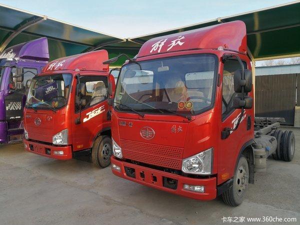 一汽解放J6F4.2米锡柴130马力,支持4万公里长换油车型上市