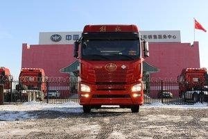 JH6--460马力LNG牵引现货到店,速来围观!!