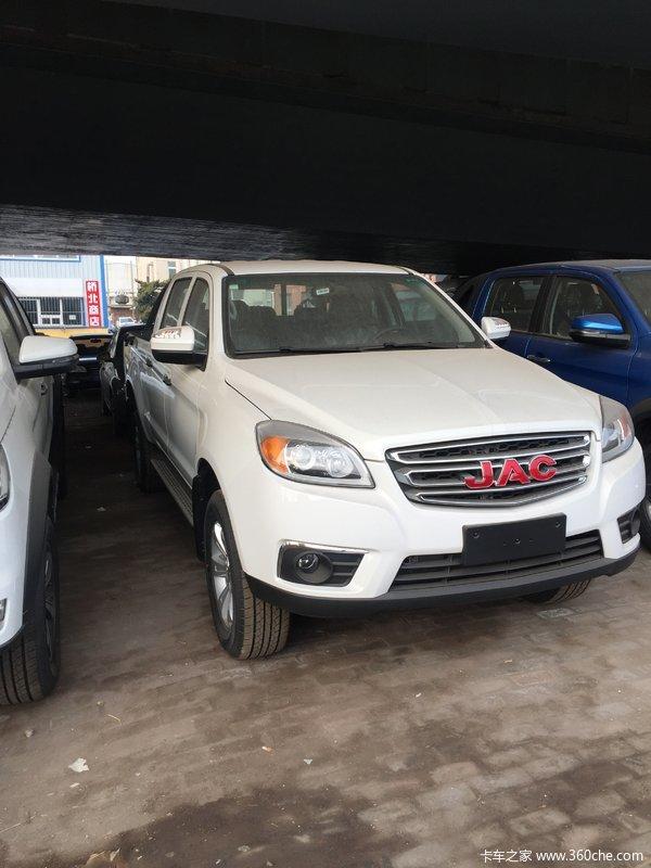 江淮T6皮卡,精英版,平货箱,新车到店,价格优惠