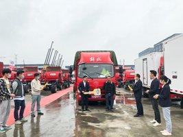 恭喜龙老板 喜提解放J6F载货车一台