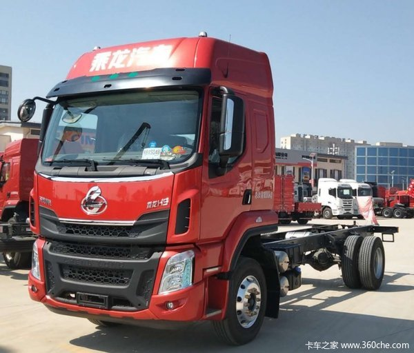 东风柳汽 乘龙H5中卡 240马力 4X2 6.8米仓栅式载货车(LZ5182CCYM3AB)