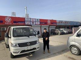 1台小霸王W17载货车成功交付客户,祝您用车愉快