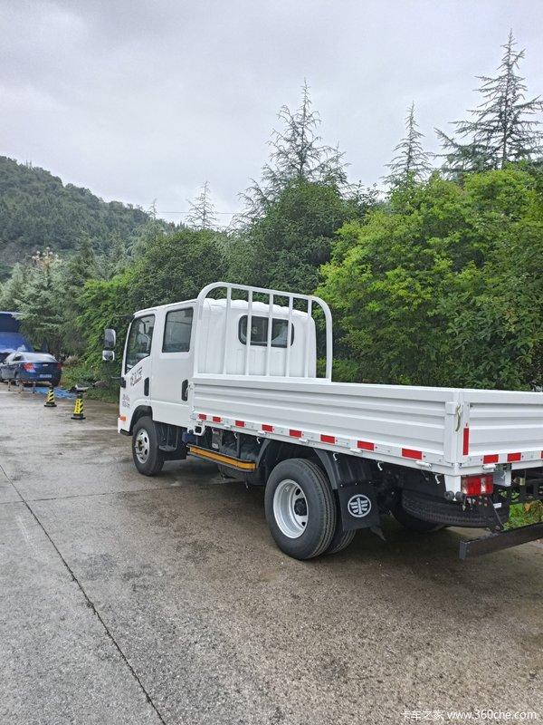 解放虎VR130马力,双排驾驶室仅需9.88万元,欢迎订购