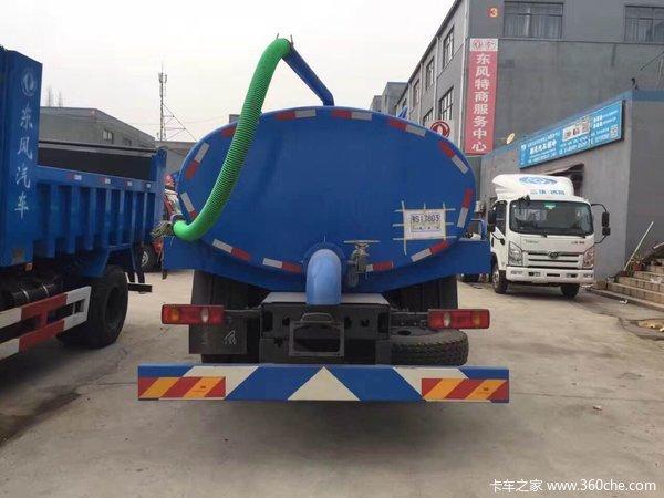 新车到店上海东风天锦吸粪车优惠促销