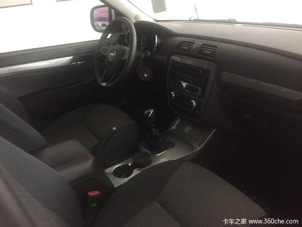 新车促销兰州帅铃T6皮卡现售8.98万元