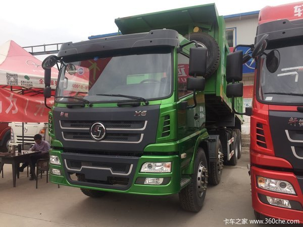 新车到店兰州轩德X6自卸车仅售29.5万