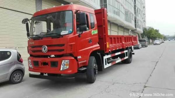 东风特商6.5米160马力平板自卸车促销