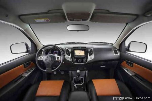 新车到店德州黄海N3皮卡仅售12.38万元
