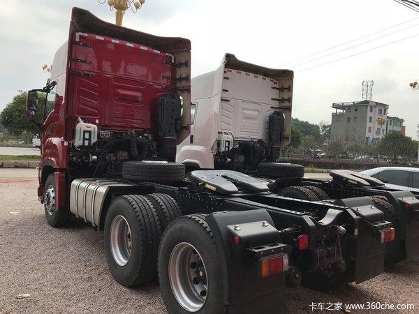 冲刺销量宜春庆铃巨咖牵引车售43.8万