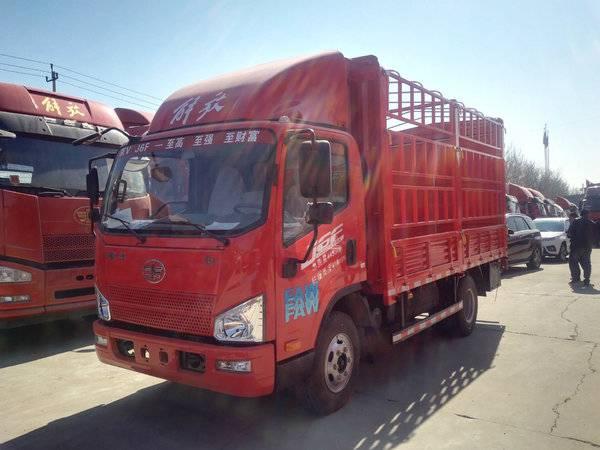 一汽解放J6F 4.2米高栏货车促销