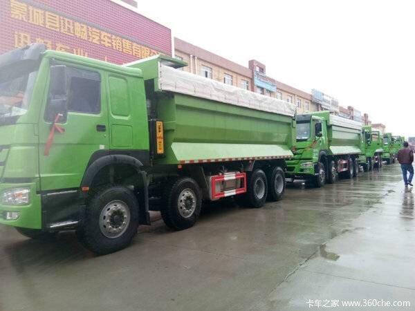 直降1.0万元亳州HOWO-7自卸车促销中