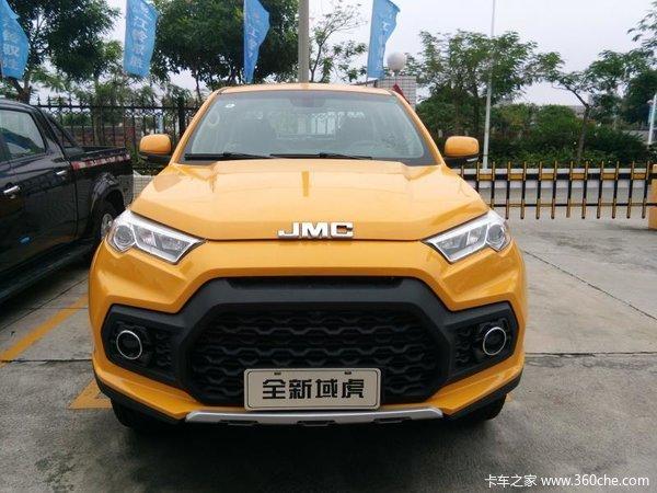 新车促销湛江域虎皮卡现售13.38万元