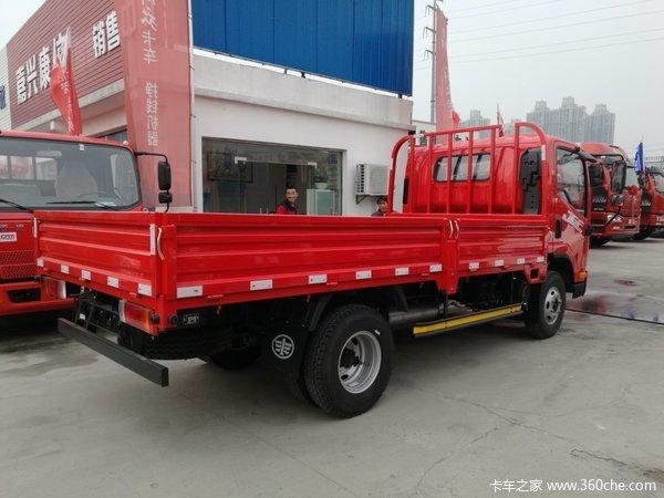 冲刺销量嘉兴解放J6F载货车仅售10.3万