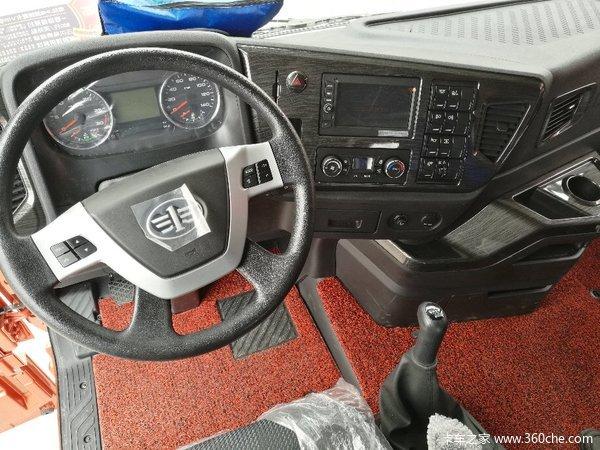 新车到店嘉兴解放天V牵引车仅售33.8万