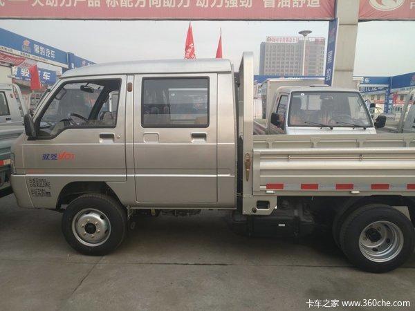 仅剩3台时代驭菱双排载货车仅售44000