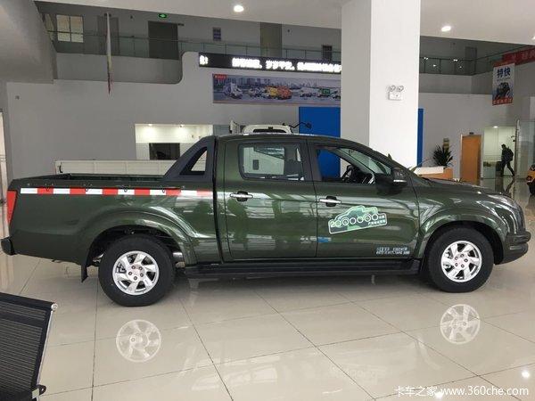新车到店扬州域虎皮卡仅售10.28万元