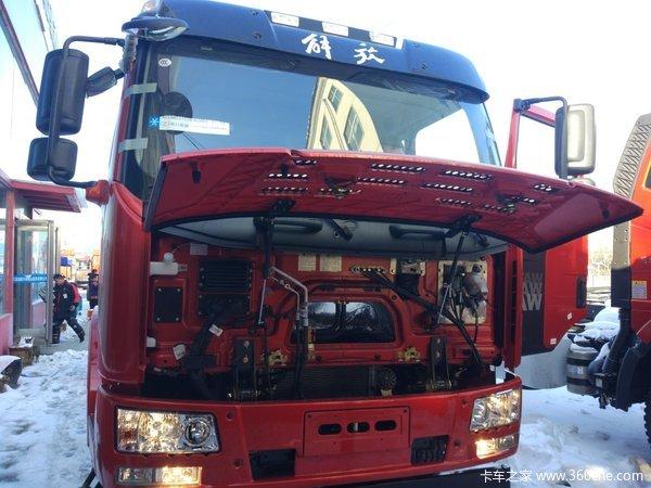 新车到店周口解放J6L载货车仅售17万元