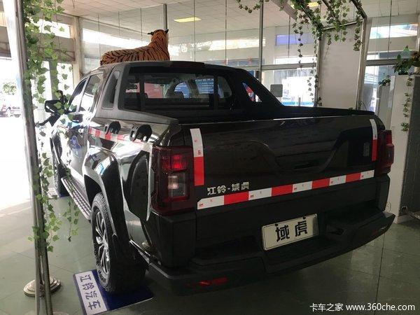 新车促销惠州域虎皮卡现售14.56万元