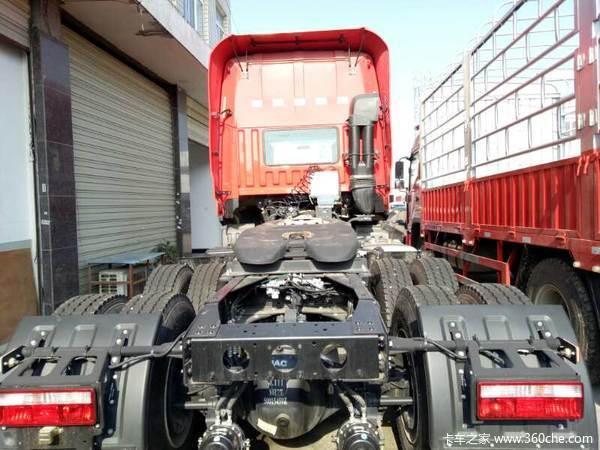 年末促销常德格尔发K5牵引车仅31.58万
