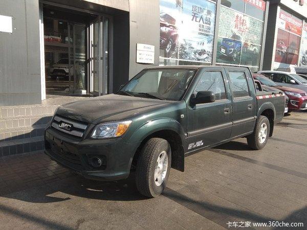 新车优惠唐山市宝典皮卡仅售8.98万元