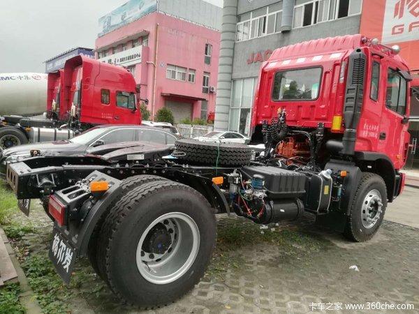 冲刺销量上海格尔发K3牵引车售17.9万