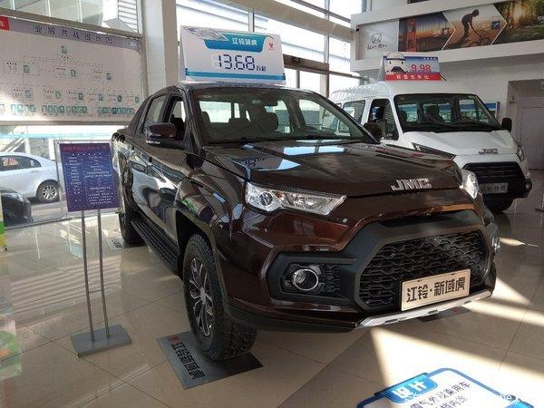 新车优惠唐山域虎皮卡仅售15.12万元