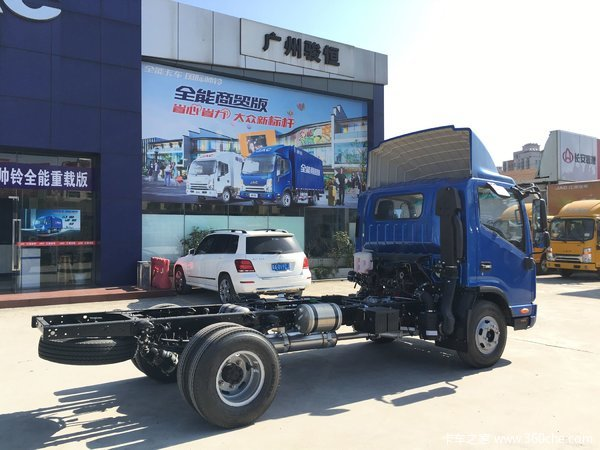 让利促销广州帅铃H载货车现售11.9万元
