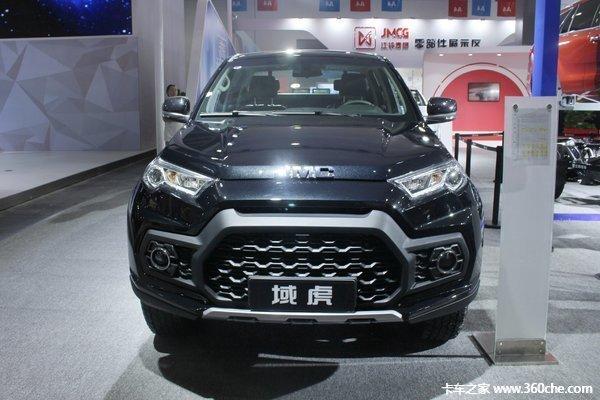 新车促销阳江江铃域虎皮卡现售14.82万