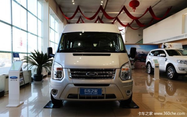 新车促销新世代全顺封闭货车售16.75万