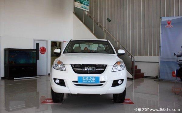 新车促销上海科达域虎皮卡现售9.96万