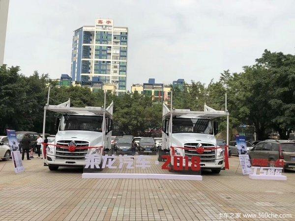 新车到店柳州乘龙T5牵引车仅售23.8万