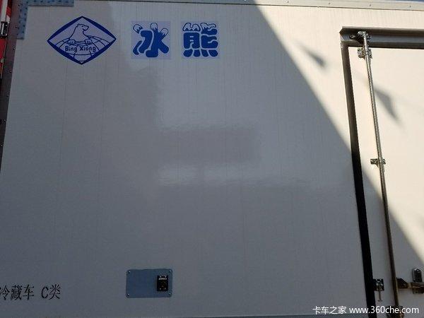 新车到店桂林J6F冷藏车仅售17.8万元