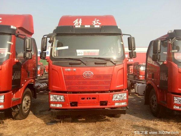 新车到店济宁解放J6L6.8米载货车热卖