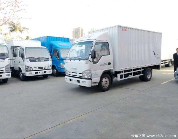 让利促销深圳庆铃100P货车现售10.58万