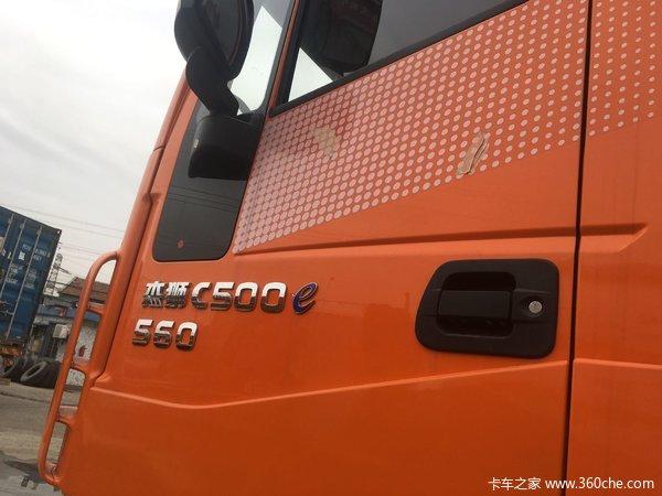 新车到店宁波杰狮牵引车仅售38.8万元