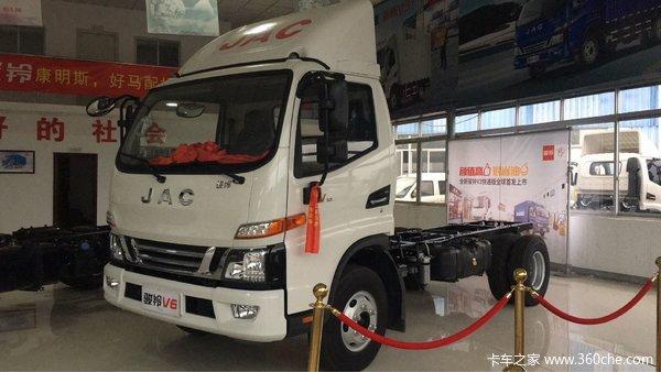 新车到店福州集福骏铃V6载货仅10.86万