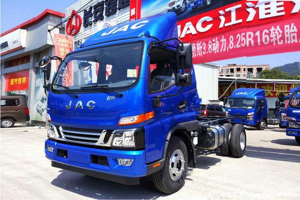 新车促销海口骏铃V6载货车现售11.08万