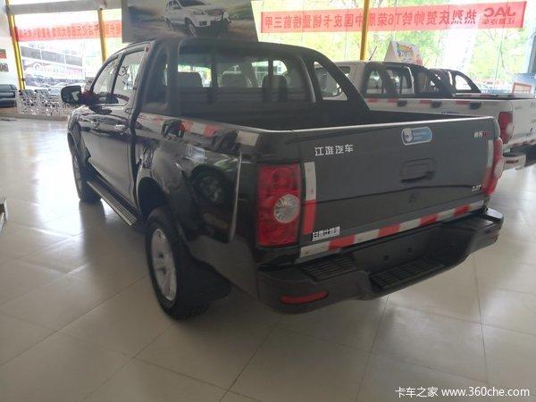 新车促销兰州帅铃T6皮卡现售9.98万元