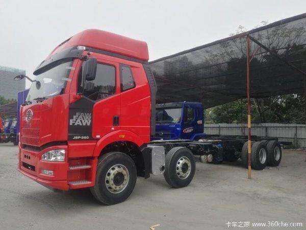新车促销江门解放J6P载货车现售32.4万