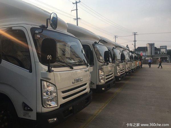 直降4千上海江铃凯运升级版厢车抢购中