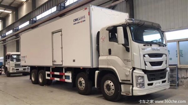 直降1.8万徐州五十铃巨咖冷藏车促销中