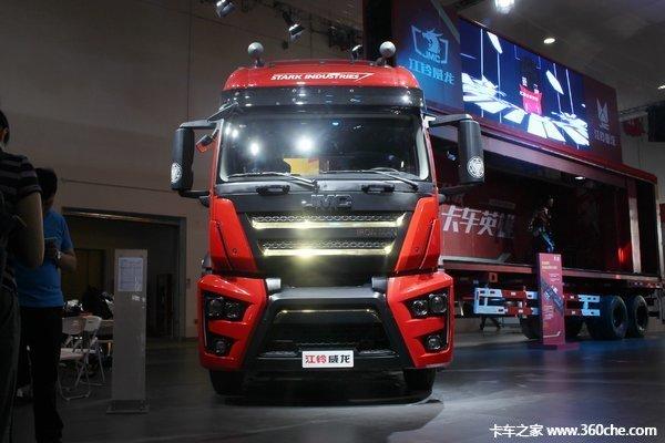 新车促销湛江江铃威龙牵引车售39.8万