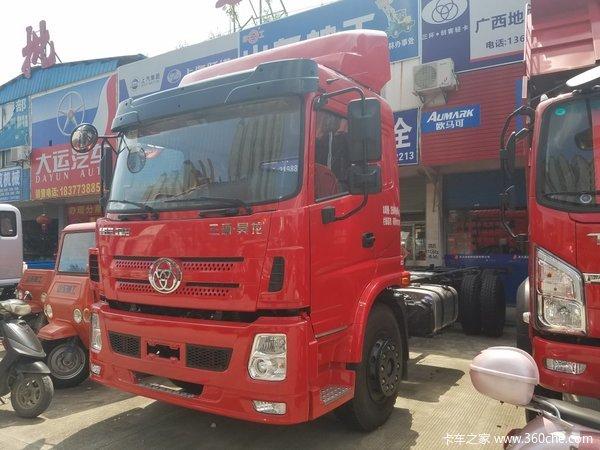 新车到店桂林三环新款昊龙6.8米车到店
