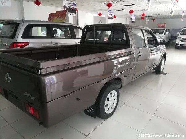 新车促销兰州神骐F30皮卡现售5.6万元