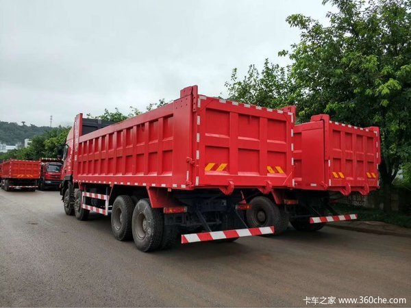 直降2万重庆杰狮450马力自卸车促销中
