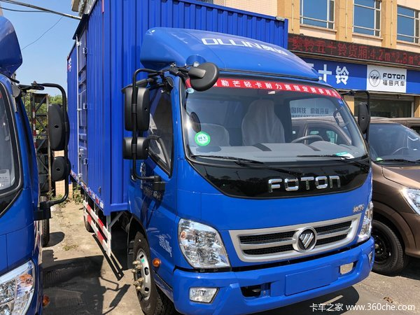 新车促销中山奥铃捷运载货车现售7.4万