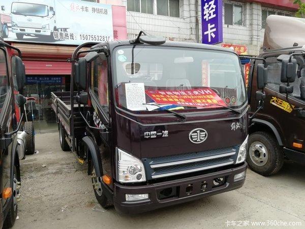 新车优惠唐山市虎V载货车仅售9.1万元