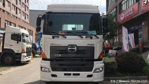 新车到店苏州广汽日野牵引车售40.18万